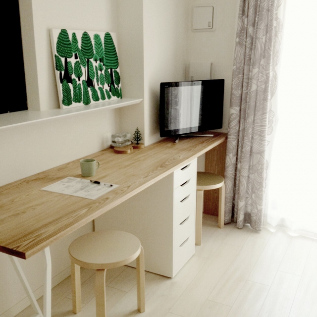 コンパクトなスペースでできる☆一人暮らしのお部屋でDIY