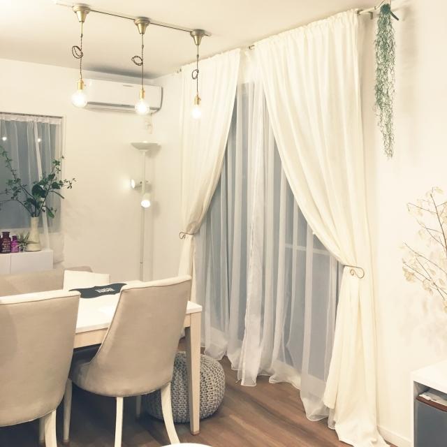 お部屋を優しくスタイリング♡IKEAのカーテン&ブラインド