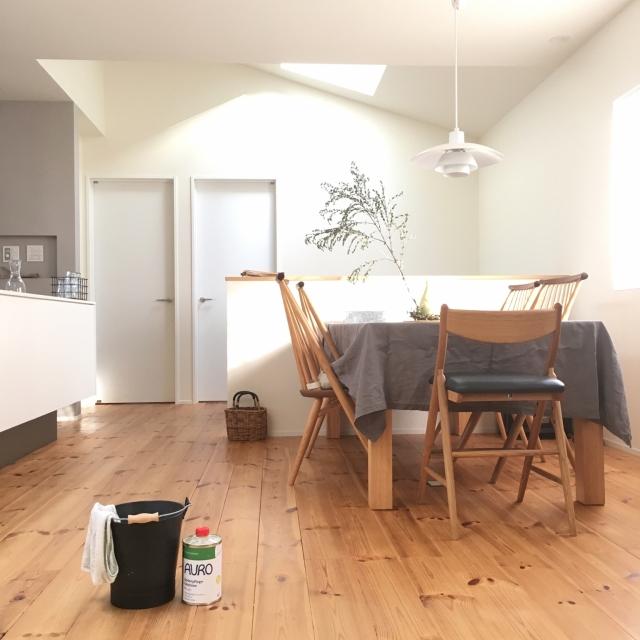 いつもの掃除からワックスがけまで♪床をキレイにする方法