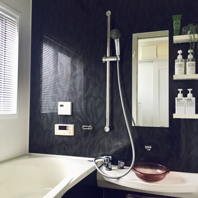 心地よさを感じたい!落ち着きと清潔感のあるバスルーム