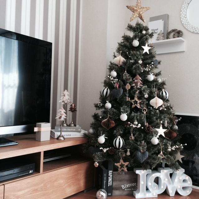 大人のクリスマスを演出シックでハイセンスなクリスマスデコ特集
