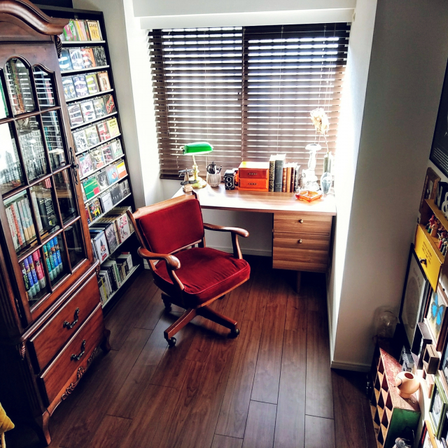 じっくりと趣味に向き合える!憧れの書斎のある暮らし
