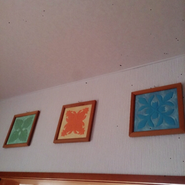 絵画のように壁掛けで楽しむ!