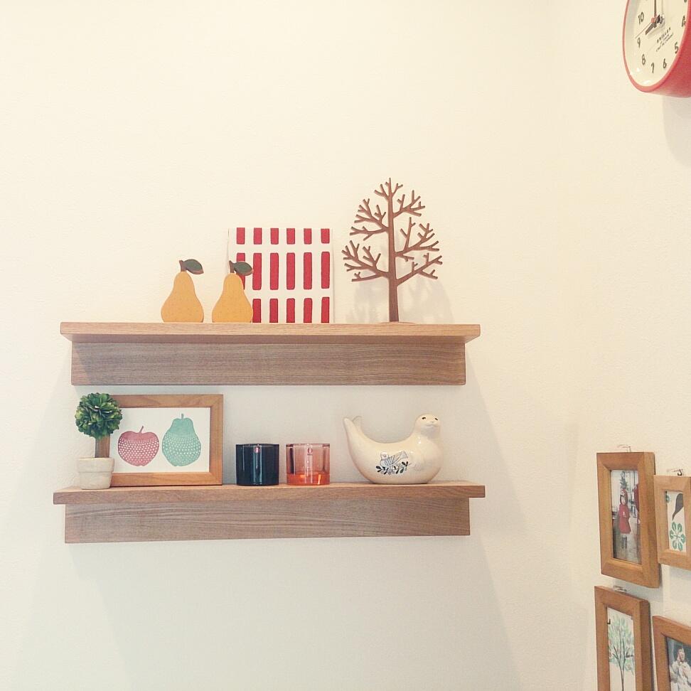 見た目GOODな棚が便利!無印良品の壁に付けられる家具