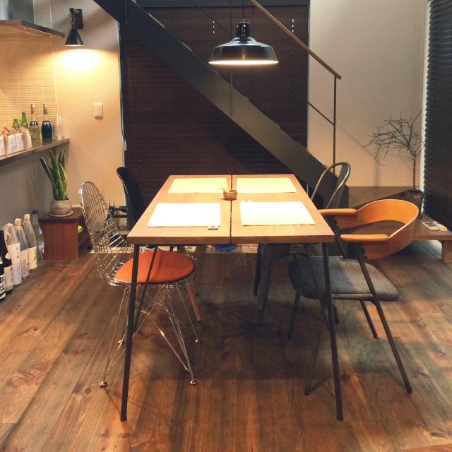 個性を生かす!!鉄脚テーブルDIYで魅力たっぷりのお部屋