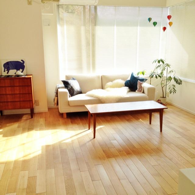 デザインの似た家具をそろえよう