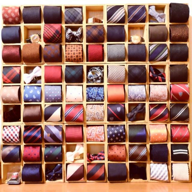 使いやすく大切にしまいたい!ネクタイの快適収納アイデア