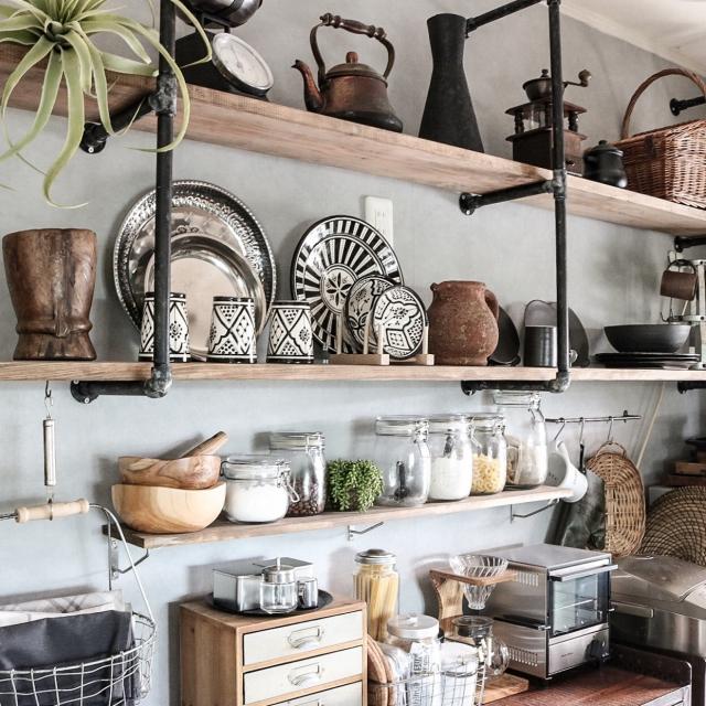 目指すは居心地のいい家☆雰囲気のいいカフェ風インテリア