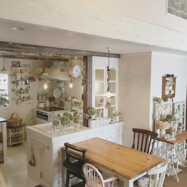 オーガニックカフェの雰囲気なキッチン