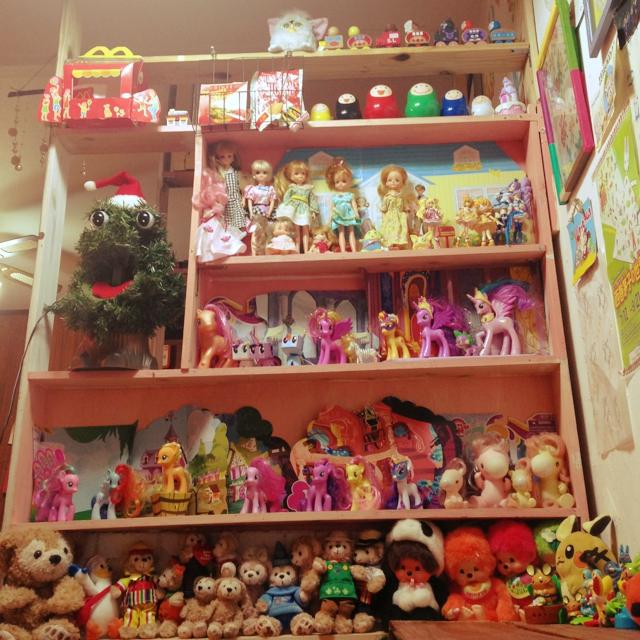 かわいいお人形たちのマンション♪