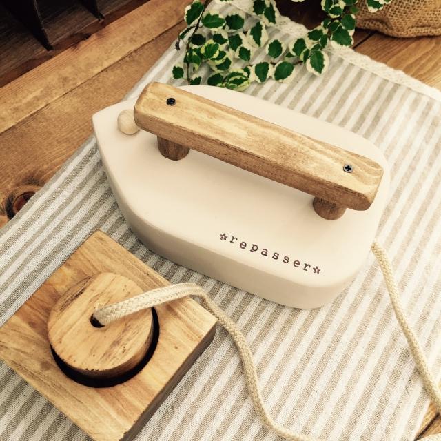 木のぬくもりと母の愛で作る♡おもちゃアイロンDIY by quatresaisons-hiroさん