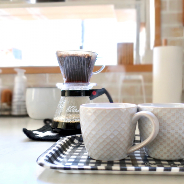 おうちカフェで癒される☆ニトリのマグカップでコーヒーを
