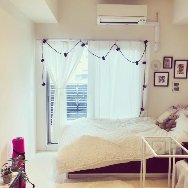 「21.5m2。広々感じられる、シンプルだけどときめくお部屋」 by tomatoさん