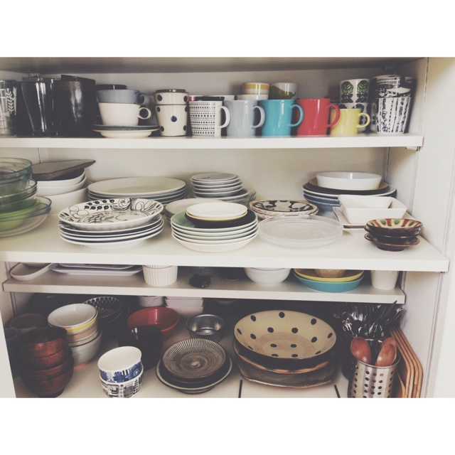 eriinさんの食器棚