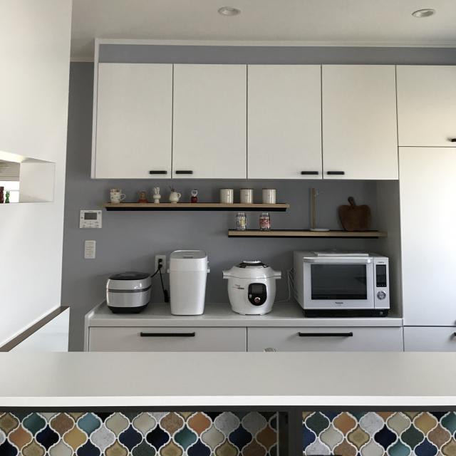 どう置くのが正解?電子レンジ・炊飯器の快適な置き方集