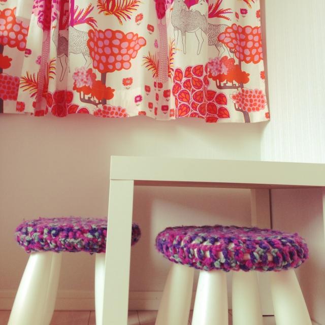 モコモコ毛糸のカバー