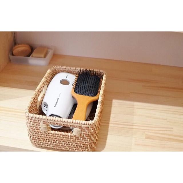 使いやすく&片付けやすく♪洗面所のヘアケア用品収納