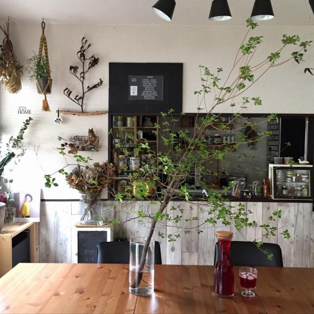 自然と共に。植物を愛する温かみいっぱいの北欧インテリア