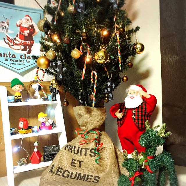 Megumiさんのクリスマスディスプレイ