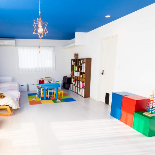 IKEAで作る♪キッズがよろこぶチャーミングな子ども部屋