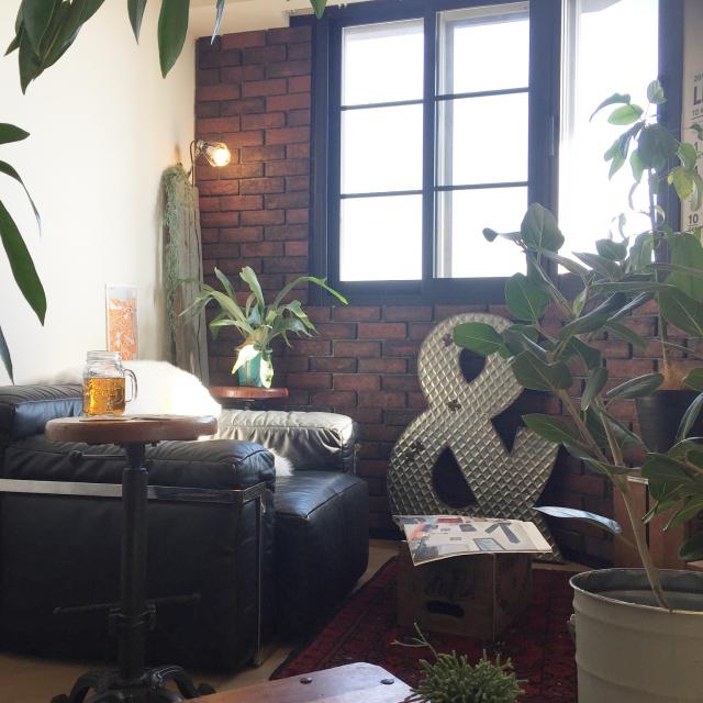 ヴィンテージ感がたまらない♡ブルックリンスタイルの部屋