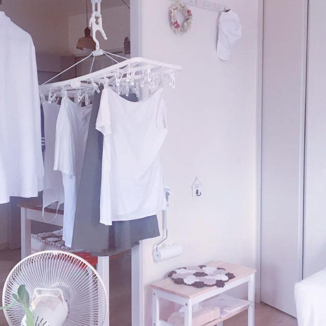 生乾きの悩みにサヨナラ♪部屋干しを乾きやすくするコツ