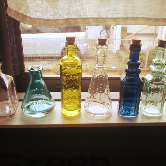 セリアの瓶は使える!瓶を使って楽しむディスプレイ