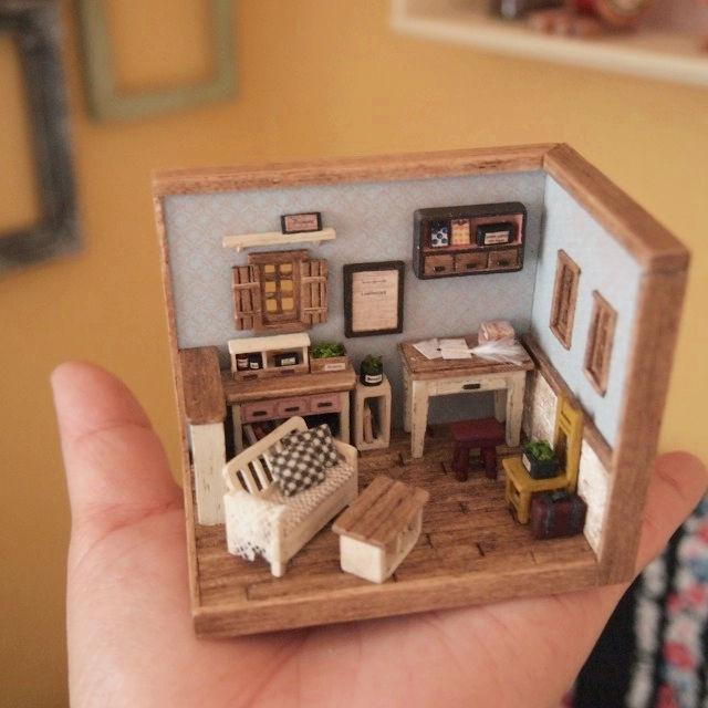 夢いっぱいの小さなおうち♡手作りドールハウスへようこそ