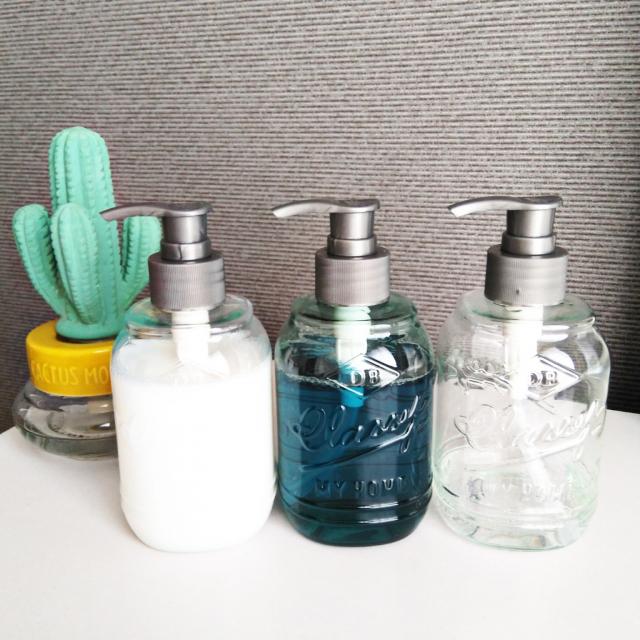 キッチンの快適度アップ!洗剤ボトルの詰め替え実例特集