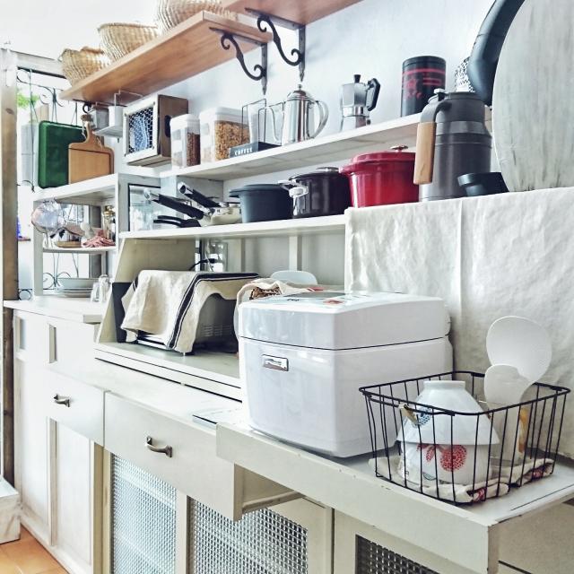 ベストポジションを見つけよう!炊飯器の置き場所カタログ
