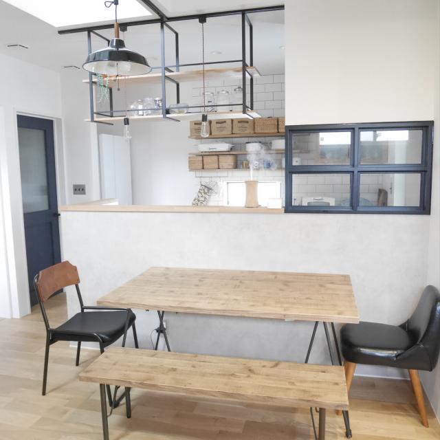「シンプルを豊かに。温かくカッコよいカフェ風キッチン」 by k_____ki.さん