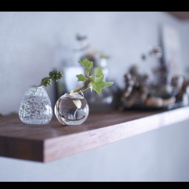 小さなまんまるガラス