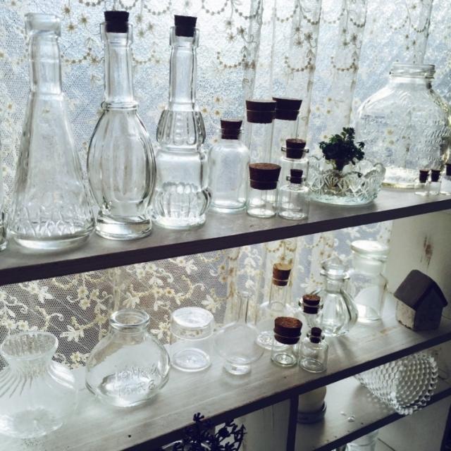 オウチの小瓶たち全員集合!