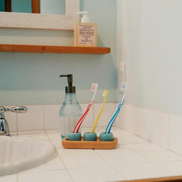 やっぱり無印良品がいい!白磁歯ブラシスタンドの魅力