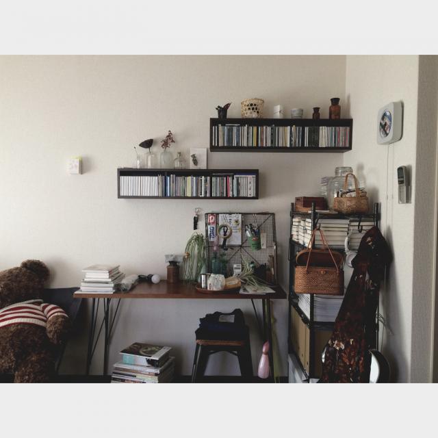 「趣味をいつもそばに。まとまりすぎないから使いやすい収納術」 by sbtyreさん