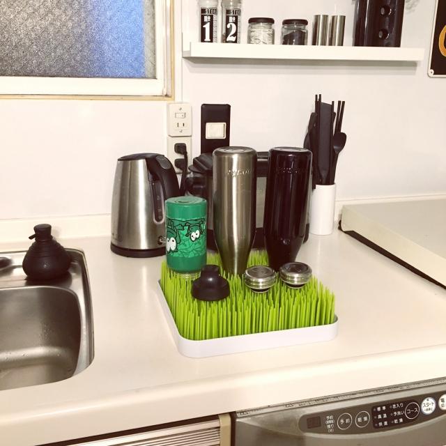 水筒洗い&乾燥の悩み解消!お役立ちアイテム&アイデア集