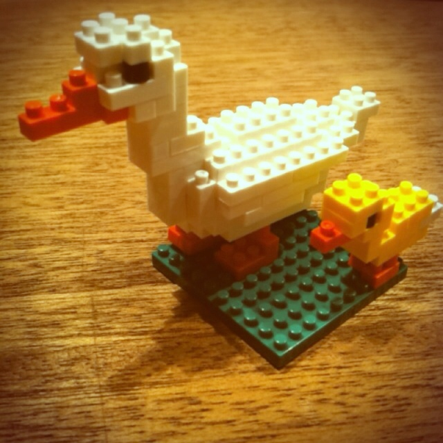 かわいい動物を組み立てる