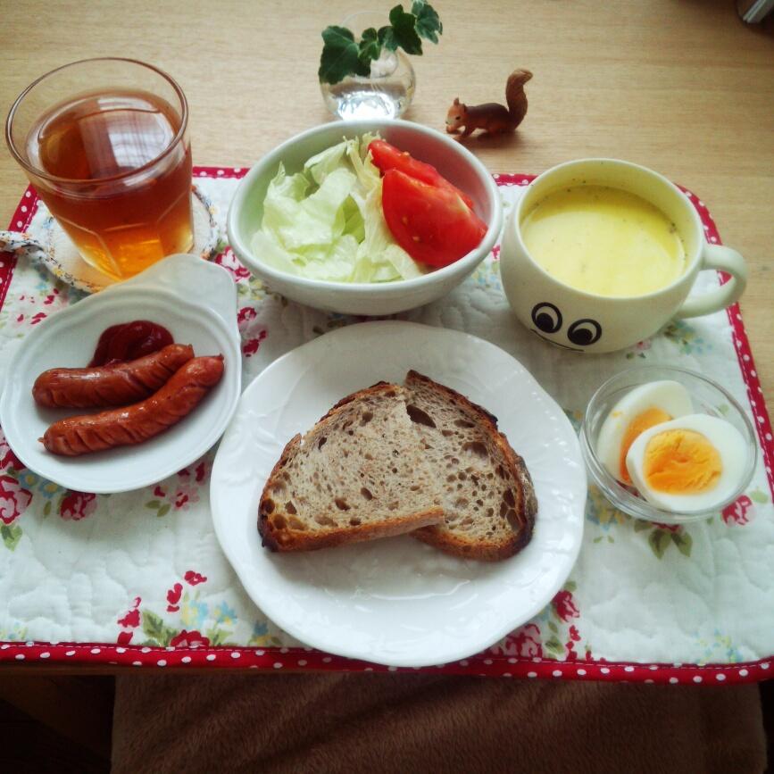 元気な朝に♪テーブルコーディネートに使える100均食器