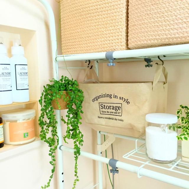 ダイソーのストレージボックスが洗面所収納に大活躍!