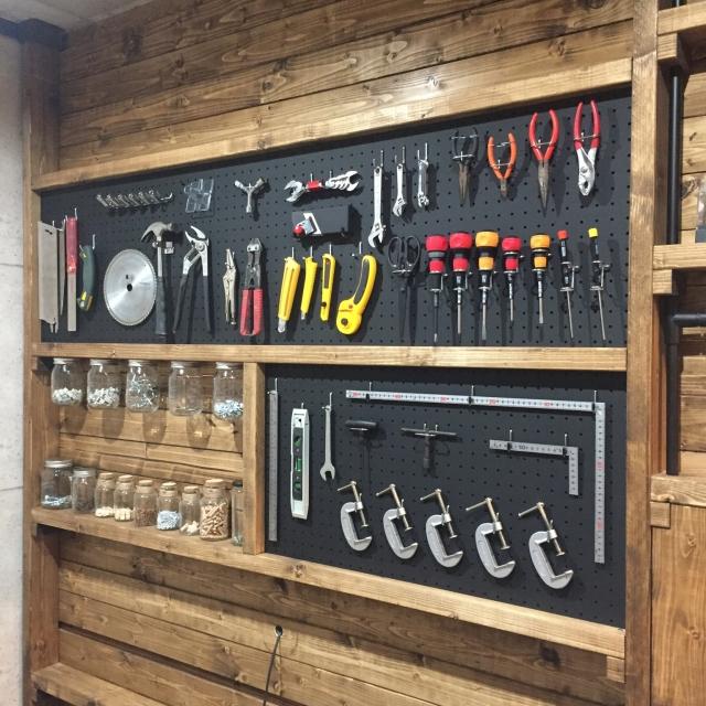 DIYの必需品♪使いやすく大切に保管したい、工具の収納術