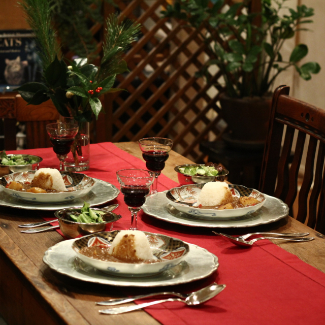 美味しさがさらにアップ♪心が弾むテーブルコーディネート