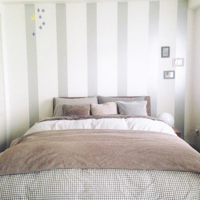 寝室・リビングに最適♡無印良品のあったか毛布とひざ掛け