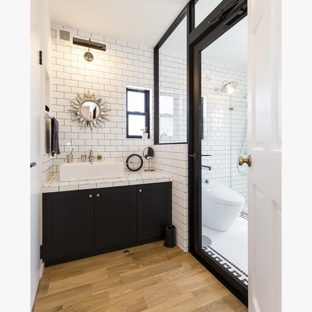 自分の好きなスタイルで♡ユニークな洗面所の実例10選