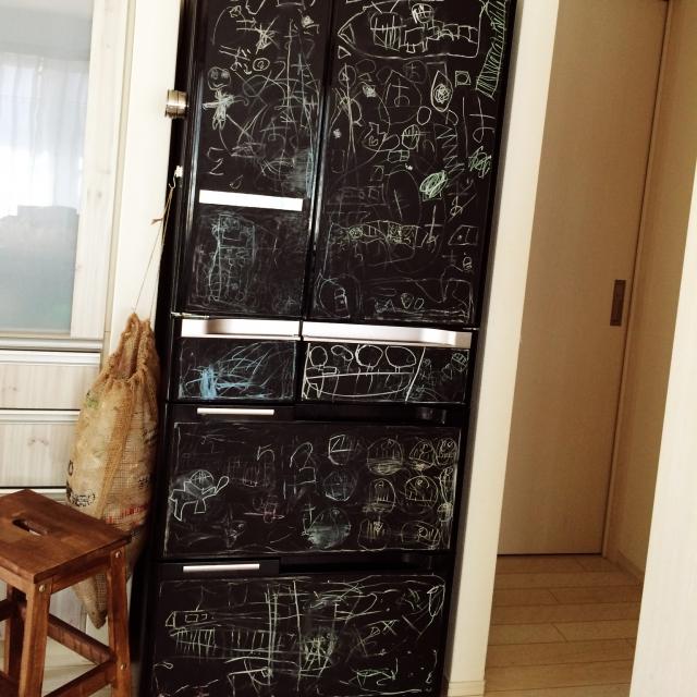 子供たちが楽しむ冷蔵庫に変身