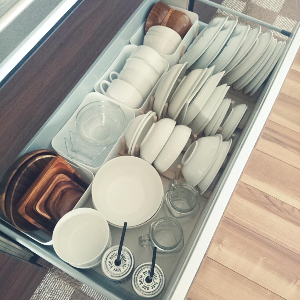 毎日使うからたいせつ!食器棚の使い方をマスターしよう♪