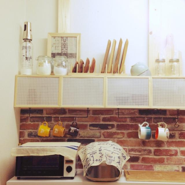Riaさんのナチュラルキッチン