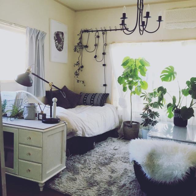 「30m2。明るいホワイトで作る、癒し系のレディなお部屋」 連載:ワンルーム1Kの暮らし by sakielさん