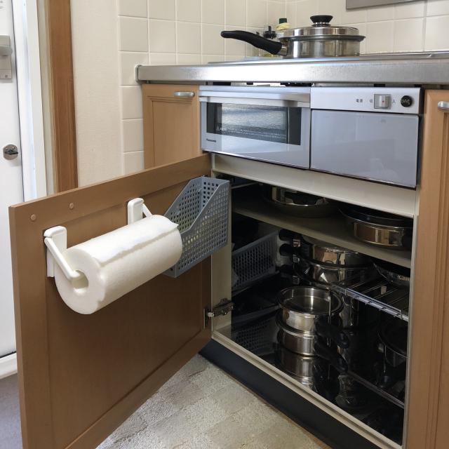 キッチンペーパーの便利な置き方は?収納アイデア実例集