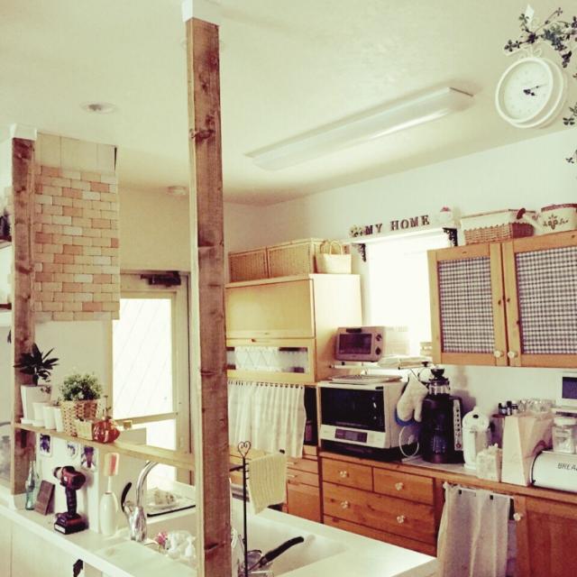 nsmamaの対面キッチン