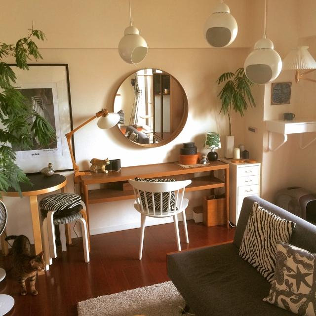 鏡でお部屋の魅力アップ!IKEAのミラーを取り入れよう